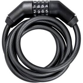Trelock SK 260 Code Zapięcie rowerowe 150 cm czarny